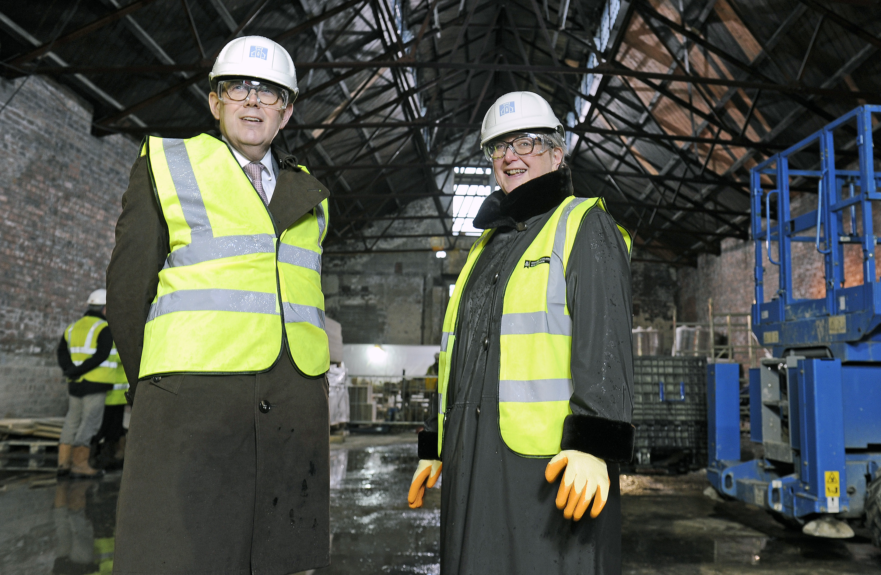 Sir Peter Luff, Chair of National Heritage Memorial Fund and Heritage Lottery Fund and Jane Ryder, Chair Historic Environment Scotland (HES)