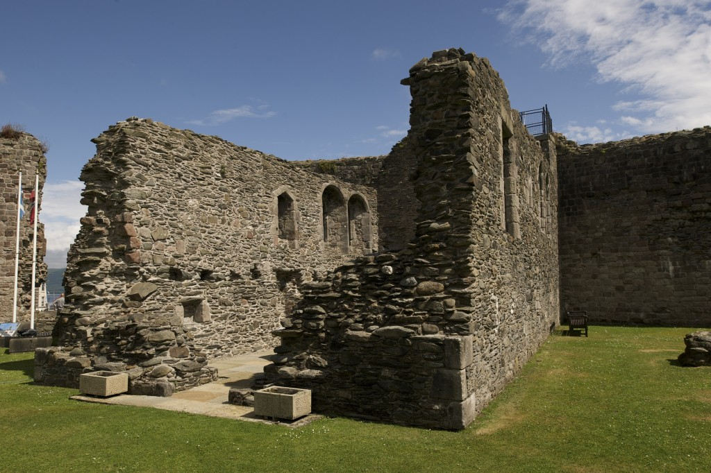 Rothesay Castle's chapel