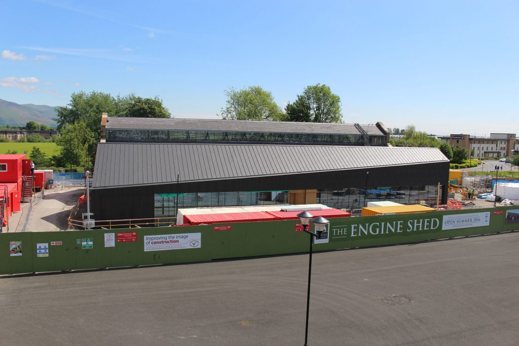 Engine Shed exterior