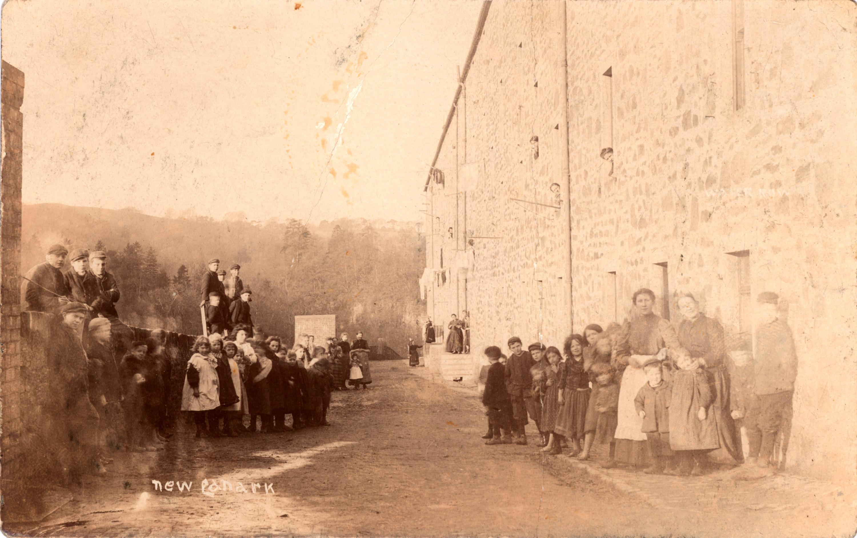 Double Row (Water Row) c.1903. @New Lanark Trust