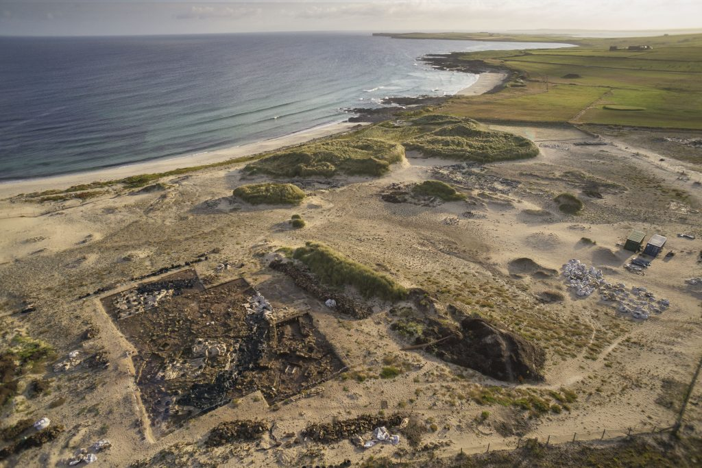 The Links of Noltland excavation site