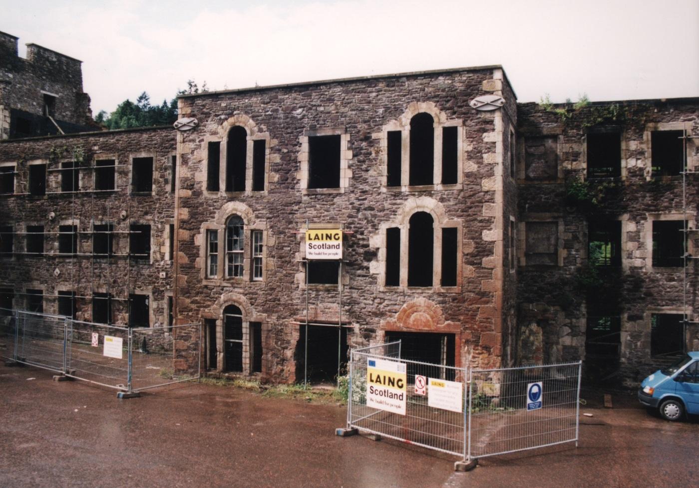 Before the restoration. @New Lanark Trust