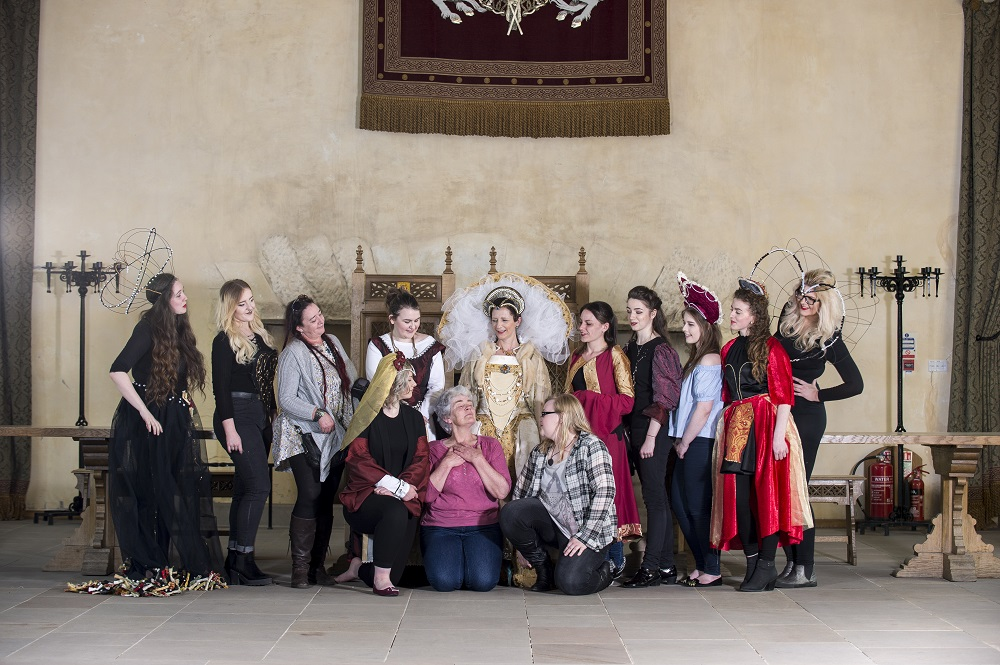 Art and Design Students at Stirling Castle