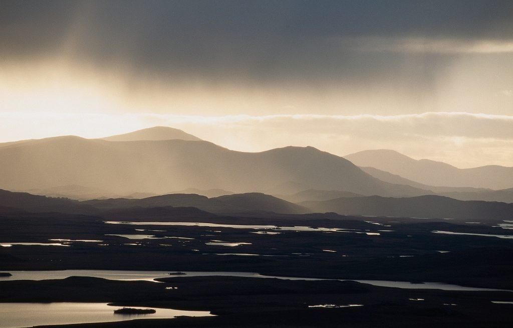 A Scottish landscape after rain