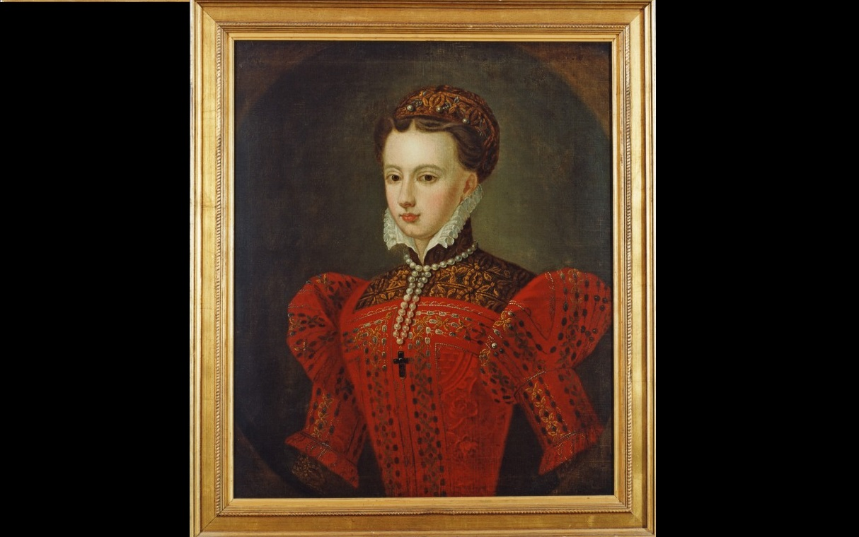 mary queen of scots portrait landscape