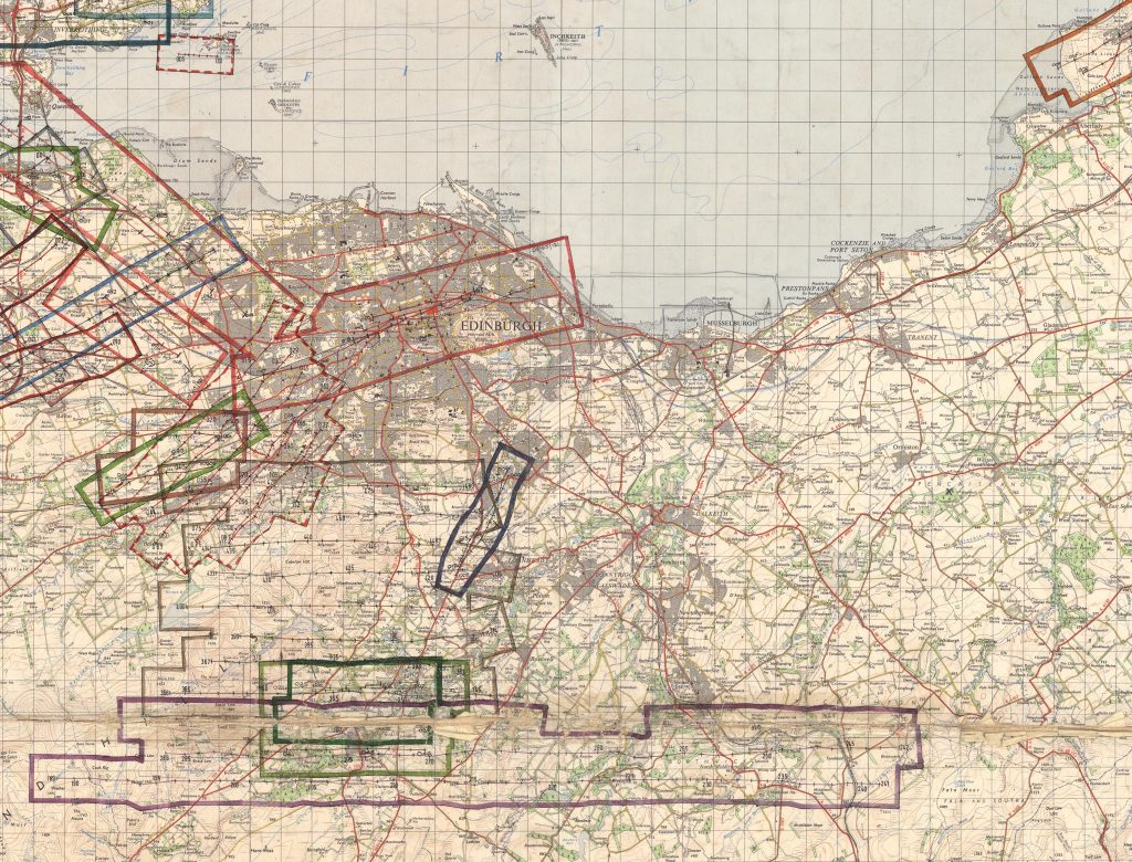 A map of Edinburgh