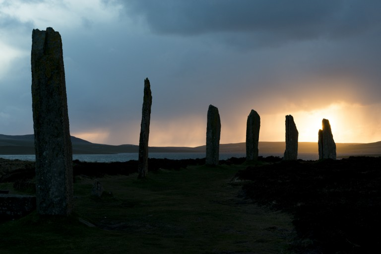Brodgar-sunset