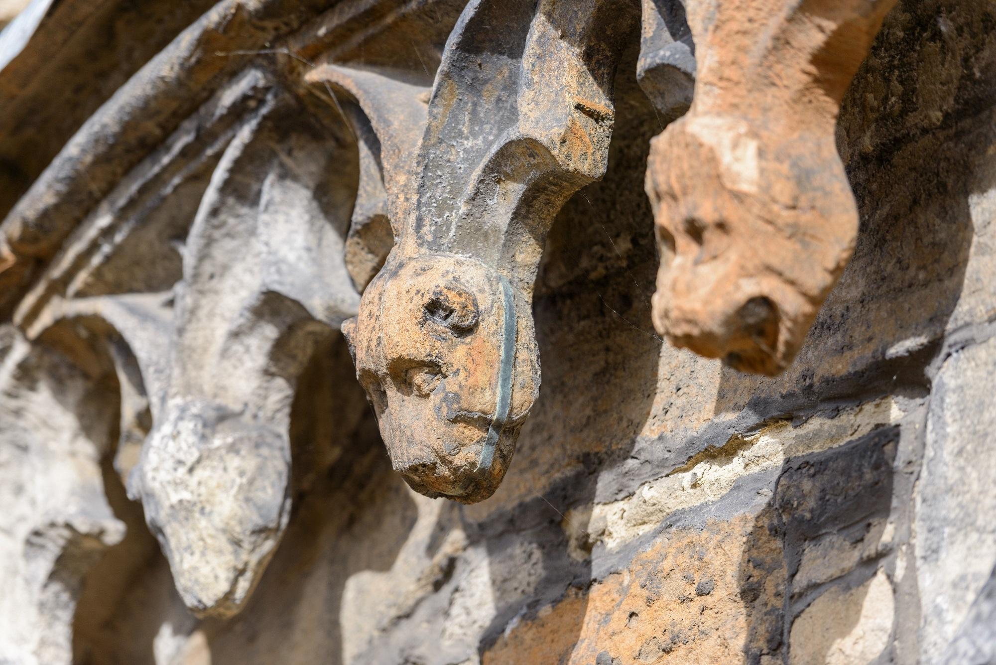 Gargoyles at Linlithgow Palace