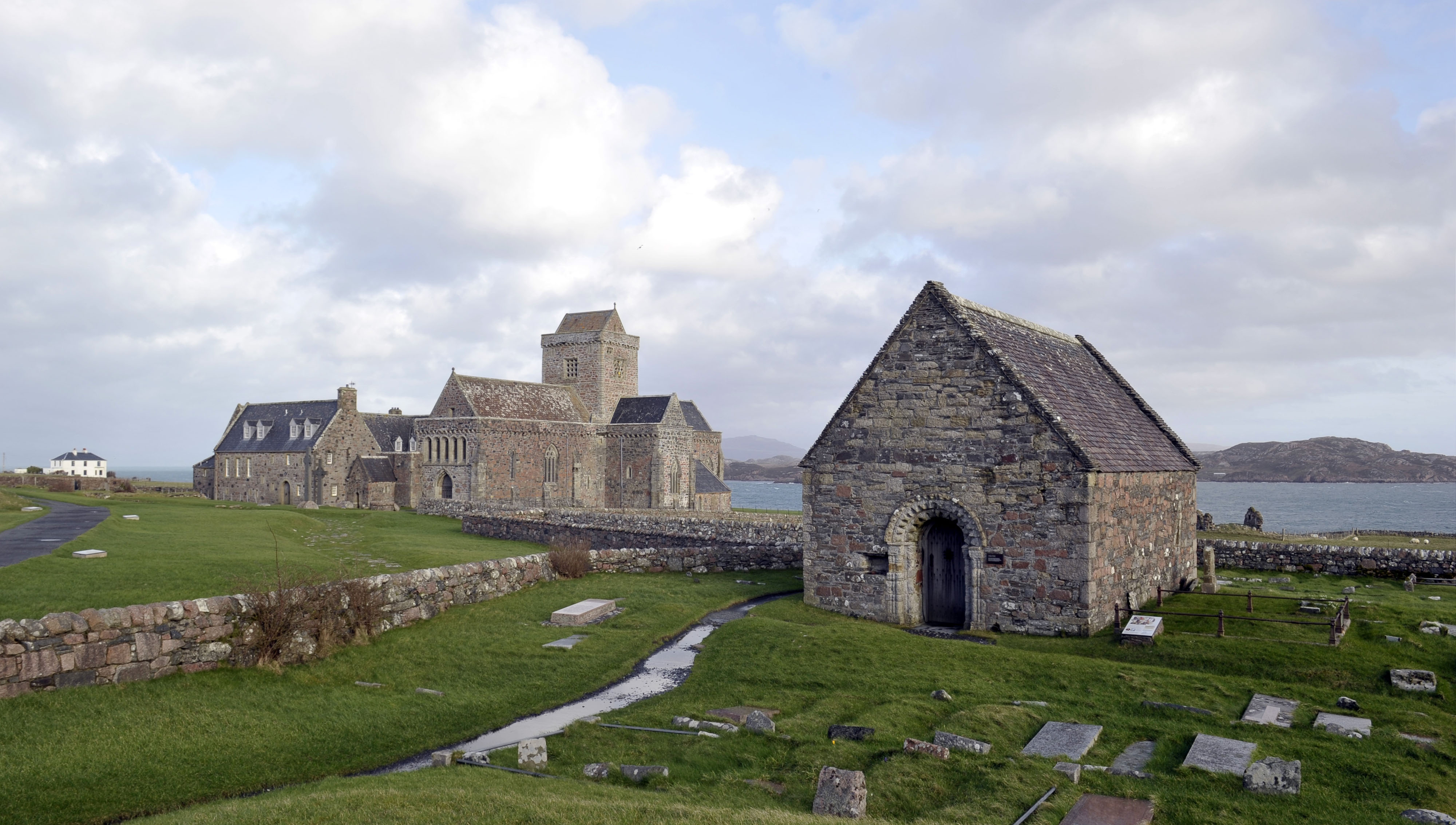 Iona Abbey and St Oran's Chapel