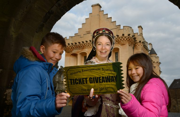 Our annual St Andrew's Day Ticket Giveaway is as popular as ever