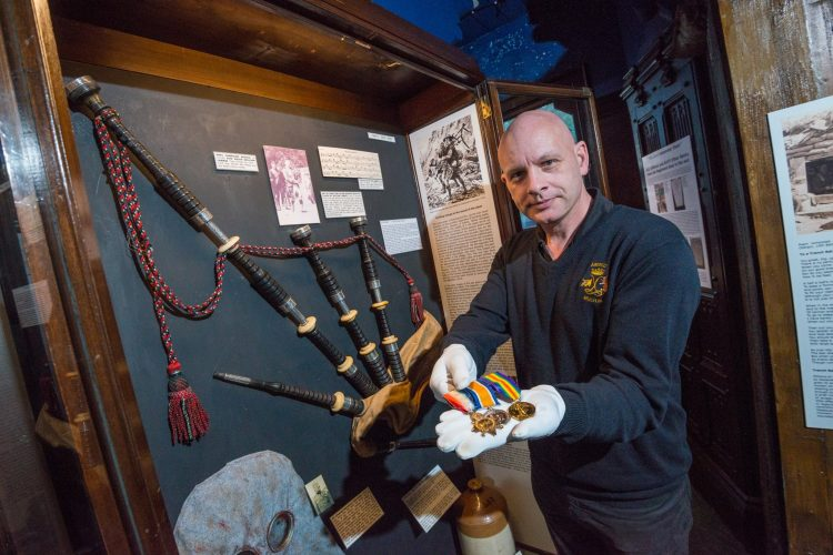 Stirling Castle hosts a special tribute to the pipers and shinty players who lost their lives in the First World War