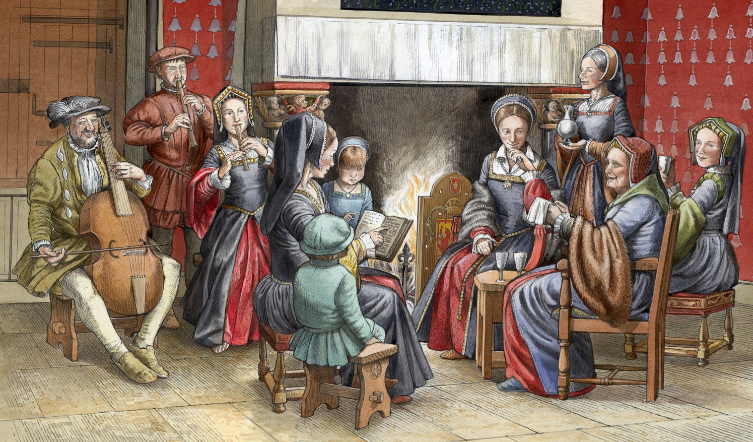 A Timeline Of Christmas In Scotland Historic Environment Scotland Blog