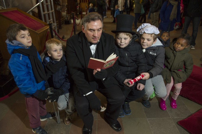 Traditions and Tales of a Victorian Christmas, Edinburgh Castle
