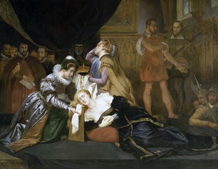 'La mort de Marie Stuart' by Abel de Pujol