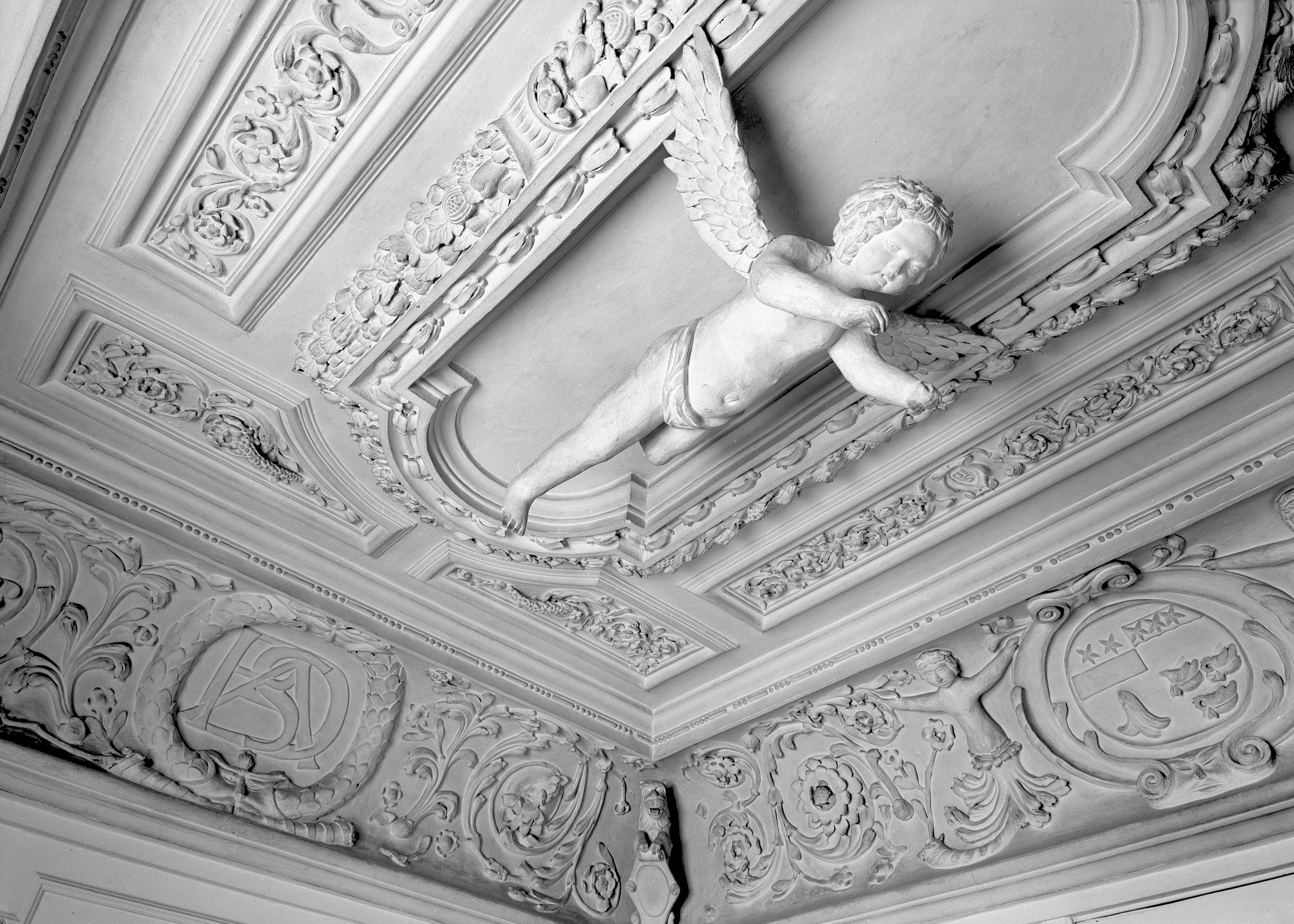 The cupid room in Prestonfield House