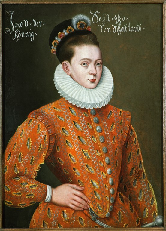 Painting of the young James VI
