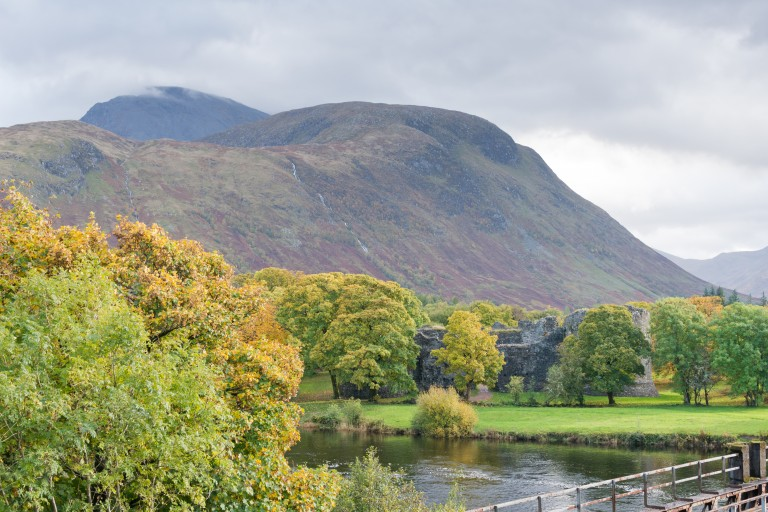 River Lochy in the foreground and Ben Nevis