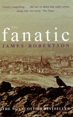 sepia book cover showing a drawing of a city in the distance and a raven on a rocky outcrop in the foreground