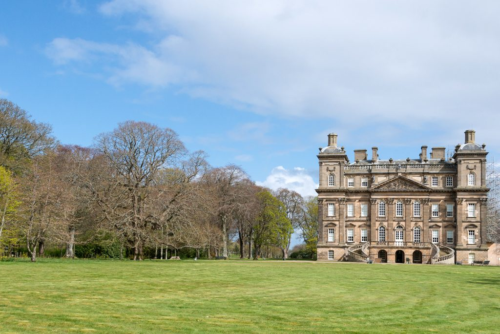 behind the scenes of a new film at duff house