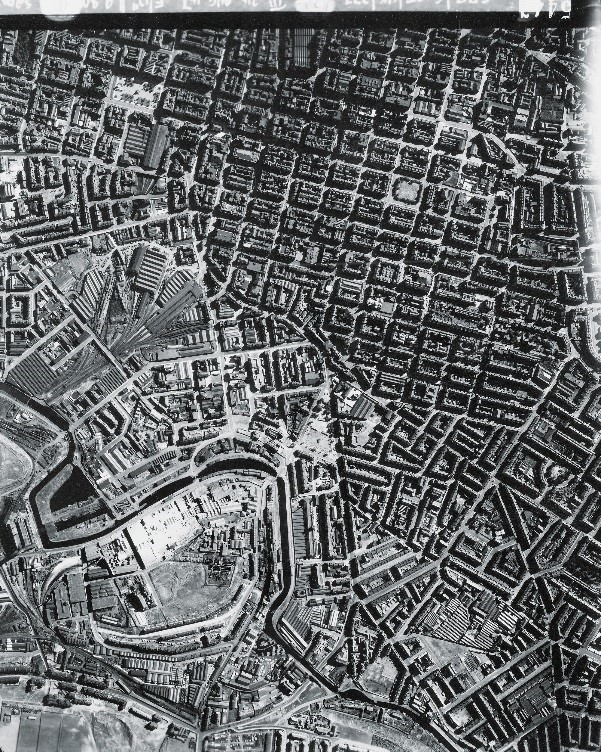 Central Glasgow, photographed in 1947 as part of the RAF survey of all of Scotland