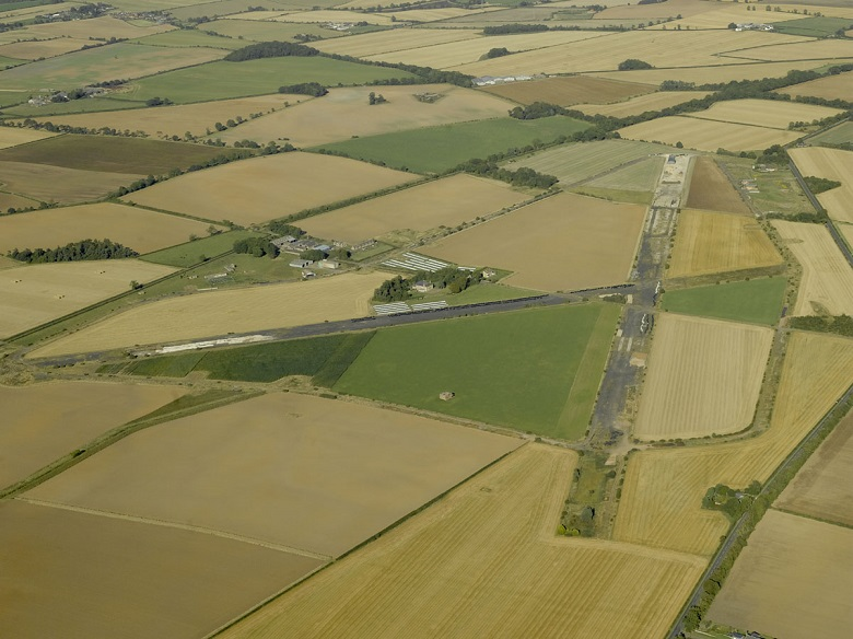 Aerial view of Winfield Airfield