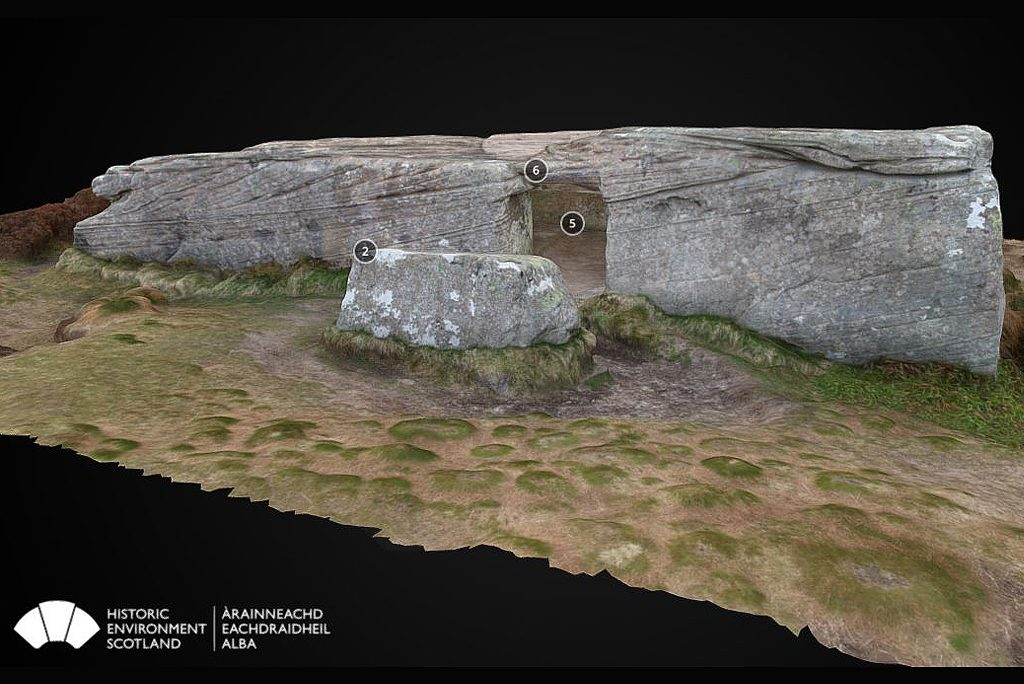 Dwarfie Stane Feature