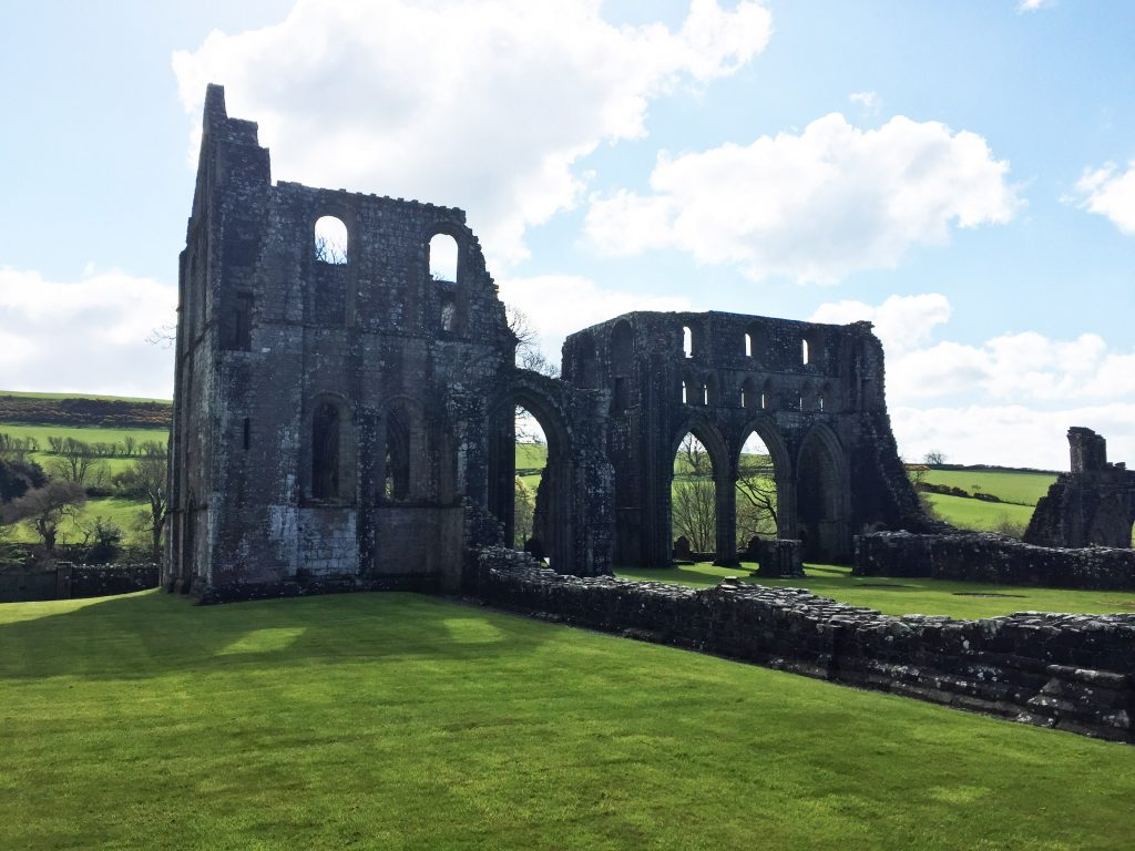 View of Dundrennan Abbey