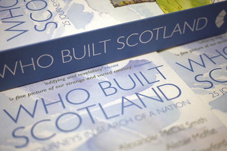 Copies of 'Who Built Scotland'