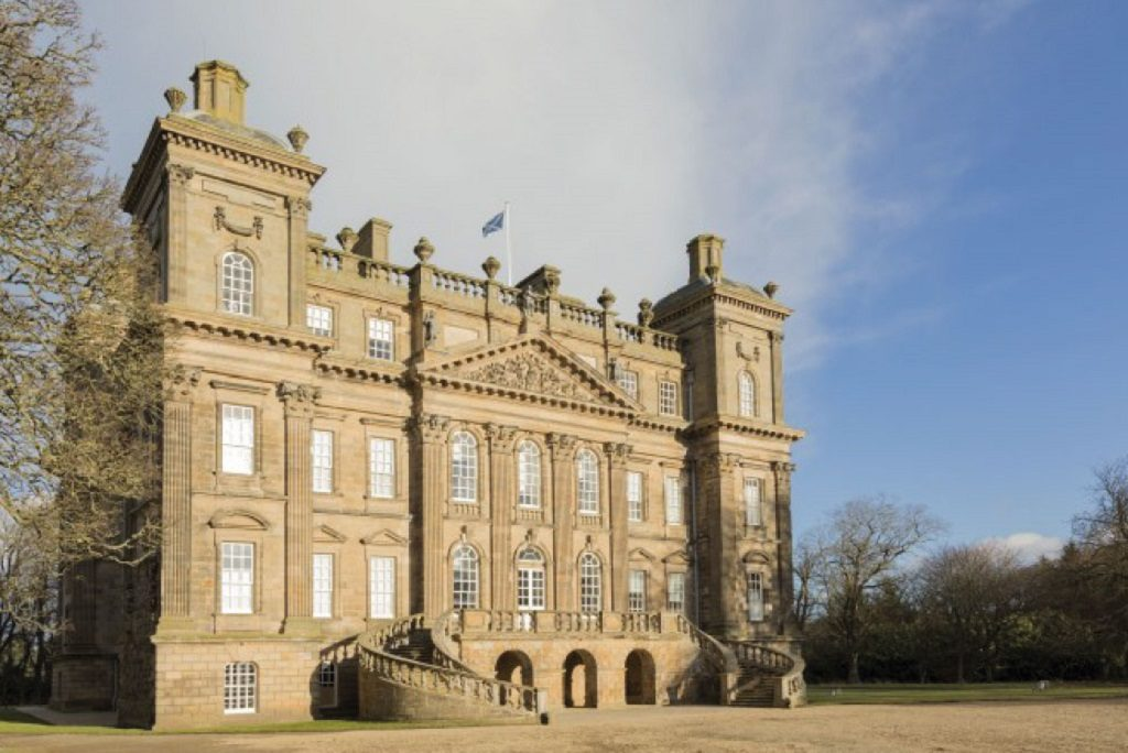 An exterior view of Duff House