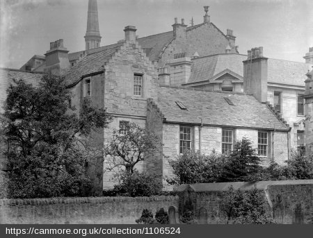 An archive image of Abbot House
