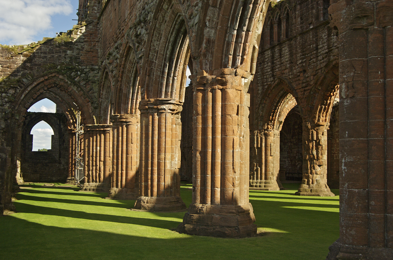 Arches in Sweetheart Abbey