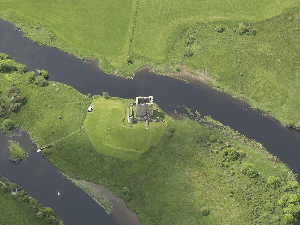 A birds-eye view of Threave Castle
