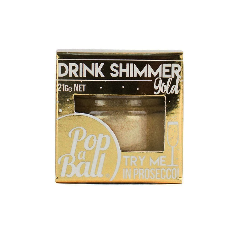 A drink shimmer in its box