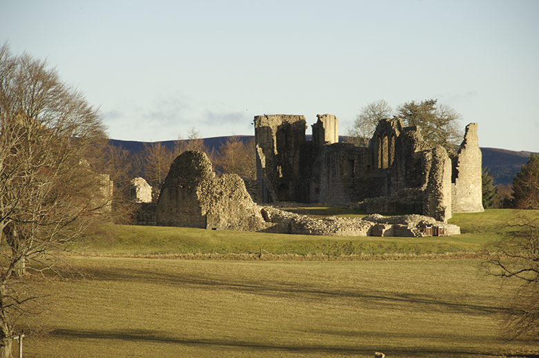 Ruins of Kildrummy Castle.