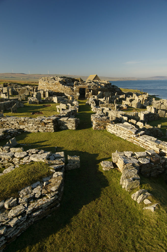 General view of the Broch of Gurness.