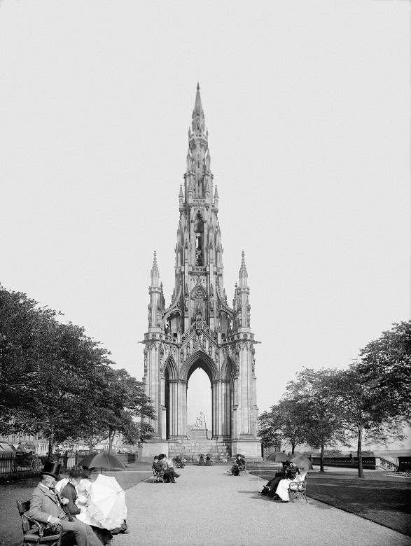 The Scott Monument on Princes Street, Edinburgh (HES)