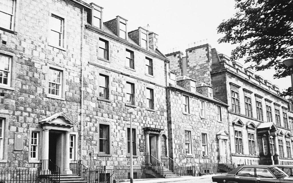A row of buildings