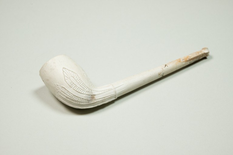 white clay pipe