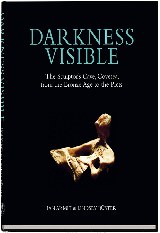 The cover of a book featuring a picture of an archaeological find