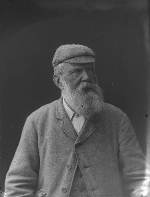 A portrait of Old Tom Morris