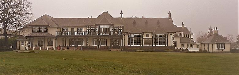 A three-storey Jacobean style golf club house